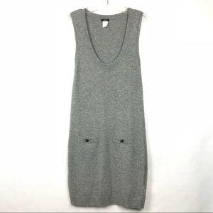 J. Crew Wool Cashmere Sweater Dress Wool Cashmere